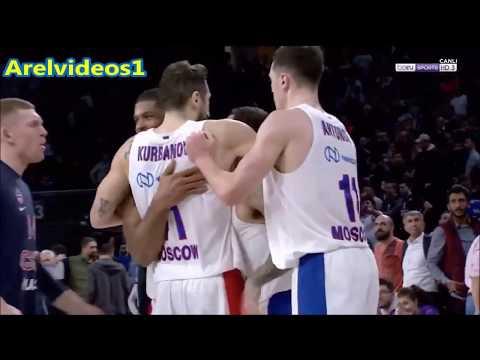 Mike James INSANE Full Court Shot + Game Winner Vs Anadolu ● OMG One Handed Full Court Shot