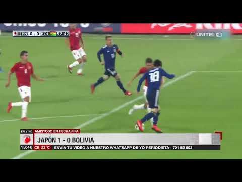 Amistoso fecha FIFA: Japón 1 – 0 Bolivia