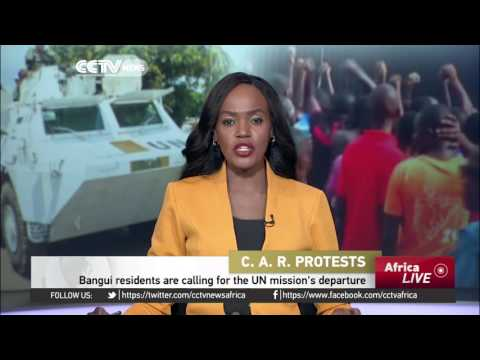Locals want United Nations peacekeepers to leave Bangui