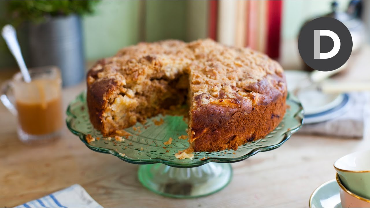 Irish Apple Crumble Cake Youtube