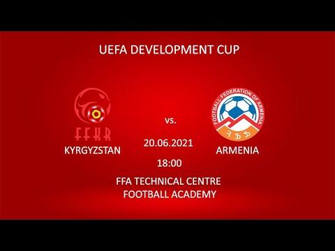 UEFA Development Cup. Kyrgyzstan U-16 - Armenia U-15