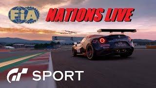 GT Sport FIA Nations Rnd 3 Live