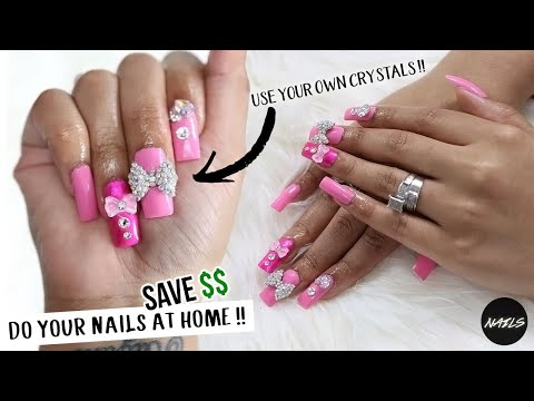 DO YOUR OWN NAILS AT HOME & SAVE MONEY FOREVER PART TWO !!