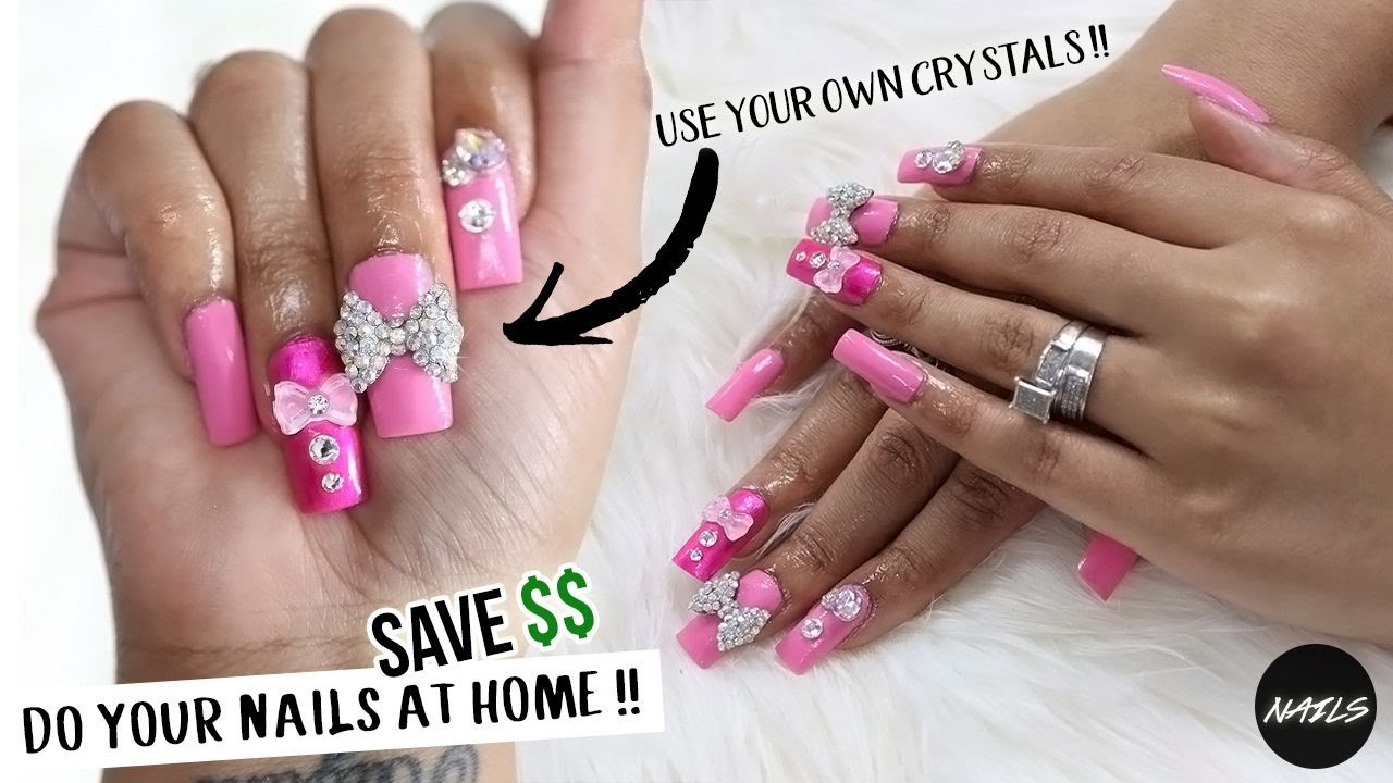 DO YOUR OWN NAILS AT HOME & SAVE MONEY FOREVER PART TWO !! - YouTube