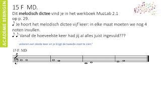 Muzieklab 2 1   LES 15 ONLINE   De noot FA