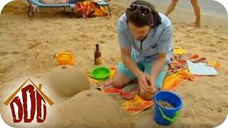Die peinliche Sandfigur