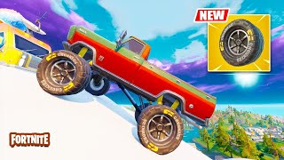 New CAR MOD UPDATE! Mythic Weapons! (Fortnite Update LIVE)