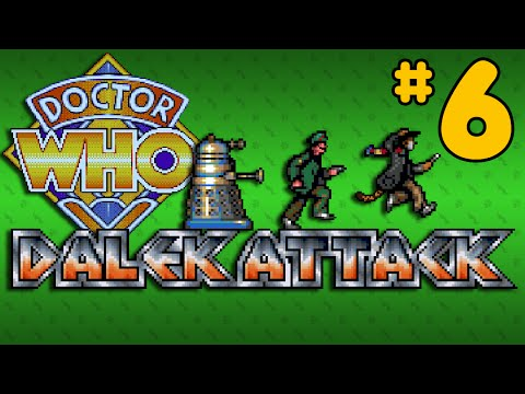 Dalek Attack (Amiga) - Part 6: Bridge Of Ninjas - Octotiggy