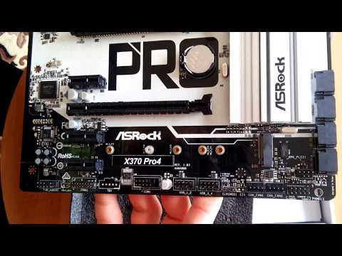 Материнська плата ASRock X370 Pro4 (sAM4, AMD X370, PCI-Ex16)