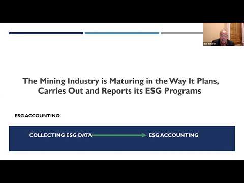Opening Remarks - ESG Mining Must Get Sustainability Right