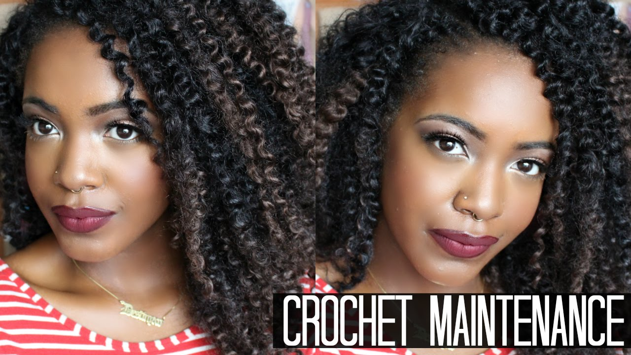 Marley Hair Crochet Braids Maintenance - Braids