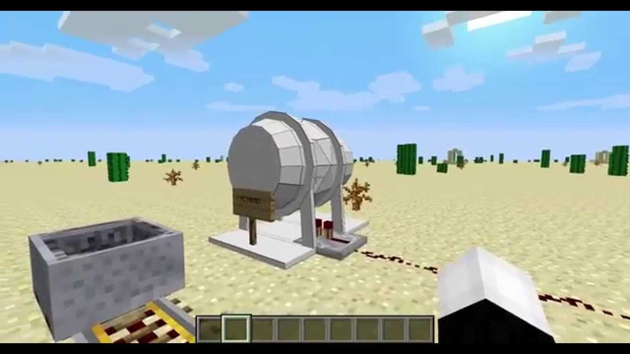 Video - HBM's Minecraft Nuke Mod Progress 2 Trinity Test The