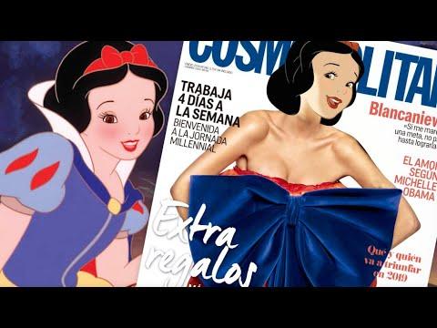 Así Se Verían Las Princesas Disney Si Fueran Chicas Cosmo | Cosmopolitan España