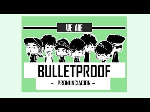 BTS -  We Are Bulletproof Pt2 | Letra fácil (Pronunciación)