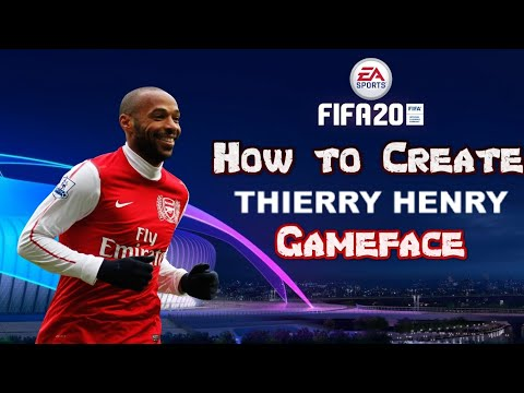 FIFA 20 - How To Create Thierry Henry - Gameface