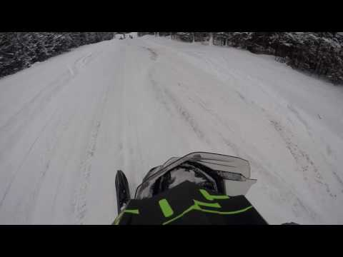 Snowmobiling Mercer Wi 2017