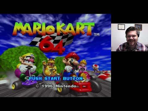 Mario Kart 64 - Nintendo 64 (WiiU Virtual Console)  VGHI Play 'n' Chat Live Stream