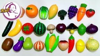 讓小朋友認識水果和蔬菜的中英文名稱|第三集|玩具反斗城玩具