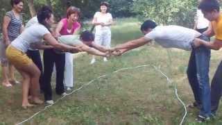 """Психологиялық тренингтер """"Жіптік курс"""" """"Өткел""""team building training"""