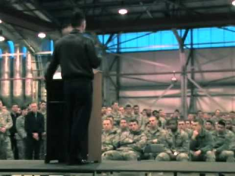 48th Fighter Wing commander has first call of year