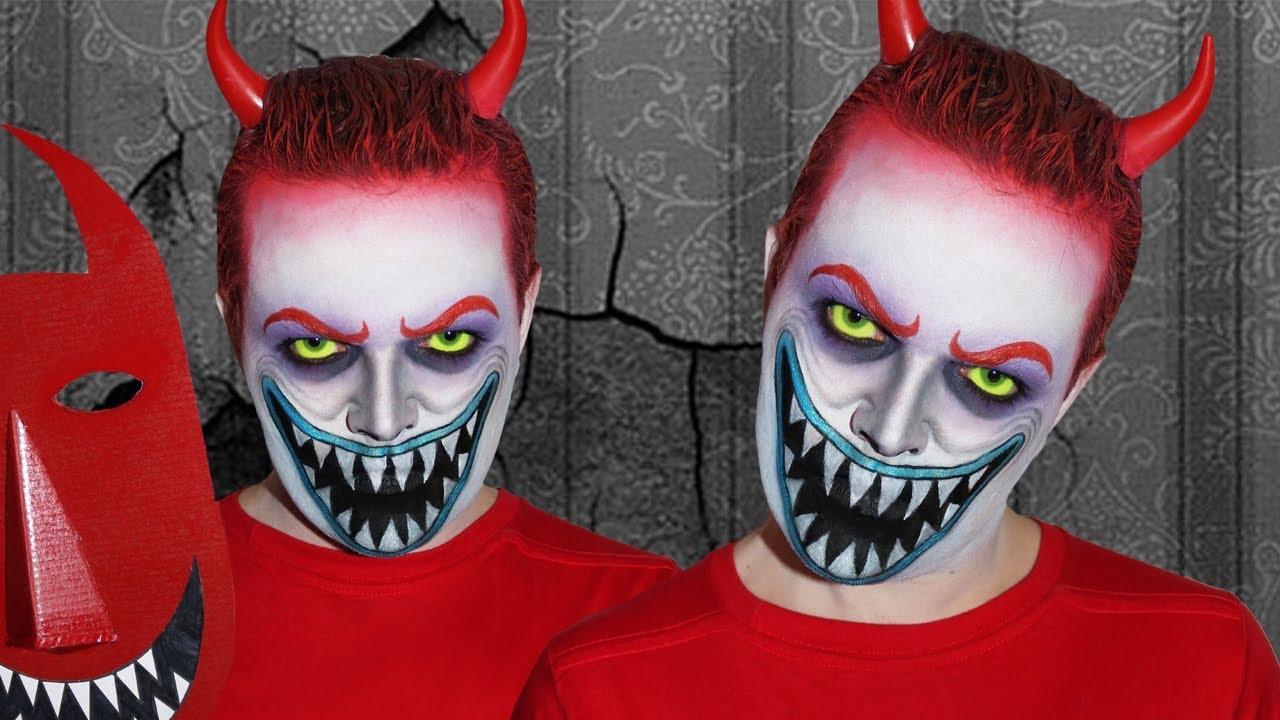 lock the nightmare before christmas makeup tutorial - Lock The Nightmare Before Christmas