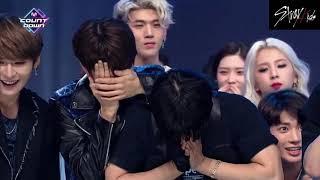 STRAY KIDS MIROH 1ST WIN on M Countdown 🏆