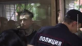 Реакция жены Кокорина на приговор. Стул, которым ударили Пака, постановили уничтожить.