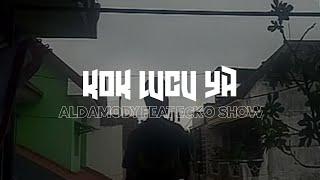 KOK LUCU YA~ALDAMODY feat ECKO SHOW[COVER](Official Lyric Video)