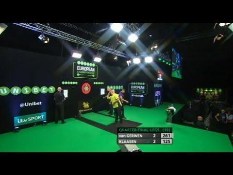 Michael van Gerwen vs Jelle Klaasen - 2016 European Championship Darts [FULL MATCH]