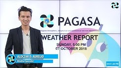 Public Weather Forecast Issued at 5:00 PM October 7, 2018