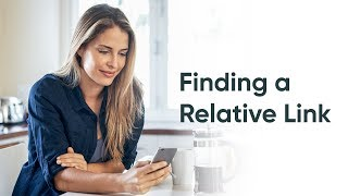 How to Find a Relative Link in Your Instance