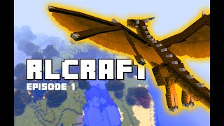 Defeating The Hardest Mobs Ever Added to Minecraft | RLCraft Episode #1