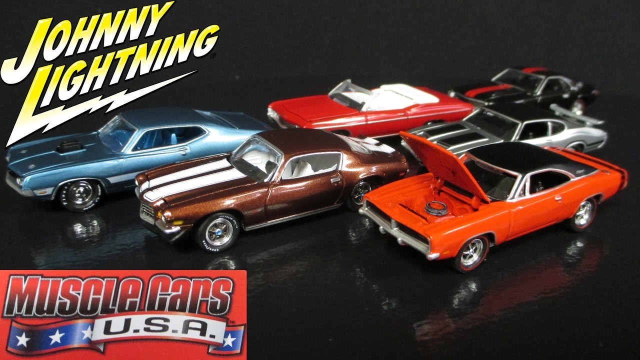 Muscle Cars Usa Release A D Johnny Lightning Case