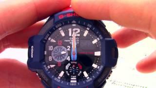 Годинник Casio G-SHOCK GA-1100-2ADR - Інструкція, як налаштувати від PresidentWatches.Ru