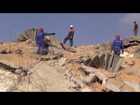 شاهد: عمليات يقودها فريق روسي لإزالة الأنقاض في مرفأ بيروت…  - نشر قبل 5 ساعة