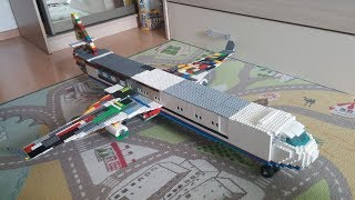 "Обзор на Lego самоделку ,, самолёт "" (LEGO stop motion)"