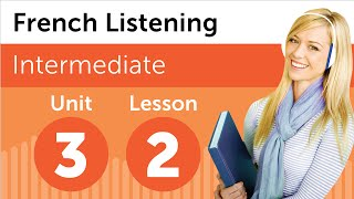 French Listening Comprehension - Delivering a Sales Report in French