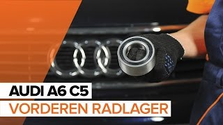 Radlagersatz AUDI ausbauen - Video-Tutorials