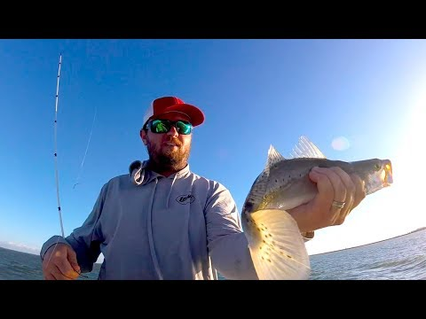 FISHING SOFT PLASTICS IN DIRTY WATER AND WIND | Copano Bay Rockport Texas