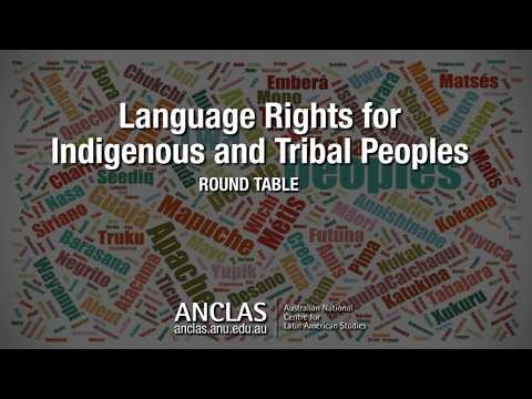 Language Rights for Australian Indigenous Peoples by Prof. Jane Simpson
