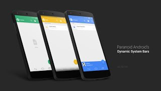 Nexus 5 - Paranoid Android 4.6 - Beta 1 - Dynamic System Bars
