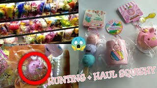 VLOG HUNTING + HAUL SQUISHY BARU 😍BANYAK SQUISHY!!