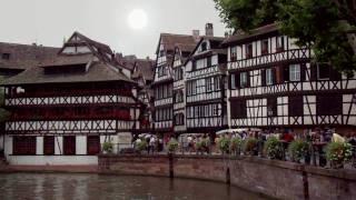 Estrasburgo - Édith Piaf - Charles Aznavour - Plus bleu que tes yeux (más azul que tus ojos)