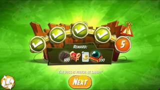 How to beat the daily challenge Saturday King Pig Panic 2 Completed in angry bird