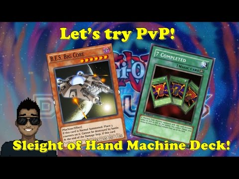 Yu-Gi-Oh Duel Links - Sleight Of Hand Machine Deck Exhibition!