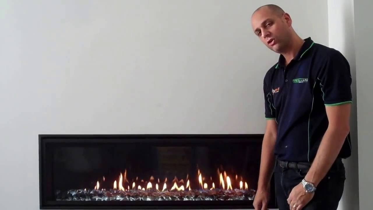gas log fire company heat and glo mezzo youtube