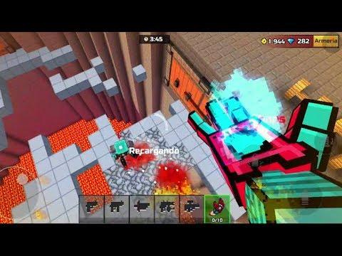 EL GUANTELETE DE THANOS EN PIXEL GUN 3D   Pixel Gun 3D   enriquemovie