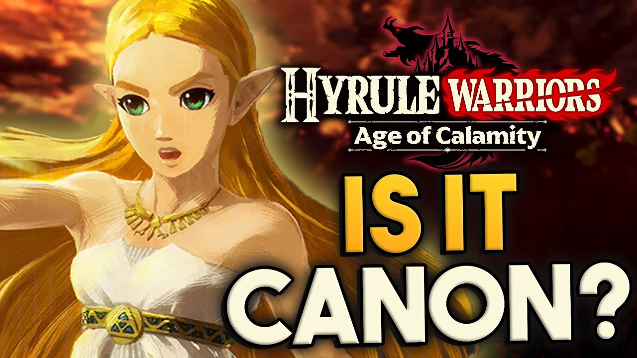 Is Hyrule Warriors Age Of Calamity Canon Youtube