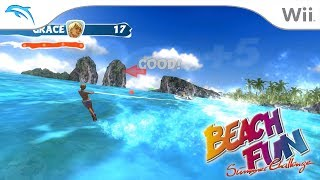 Beach Fun Summer Challenge | Dolphin Emulator 5.0-8710 [1080p HD] | Nintendo Wii