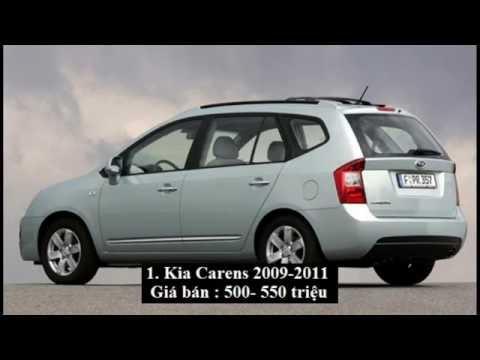 5 mẫu xe ô tô cũ 7 chỗ giá rẻ đáng mua nhất